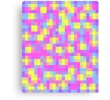 Pretty Pixel Canvas Print