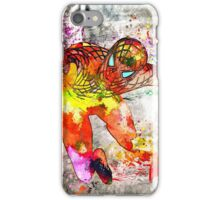 Spidey Grunge Watercolor iPhone Case/Skin