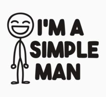 I'm a simple man Baby Tee