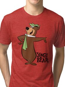 Yogi Bear - Cartoon Tri-blend T-Shirt