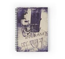 Vintage Milan For Cyclists  Spiral Notebook
