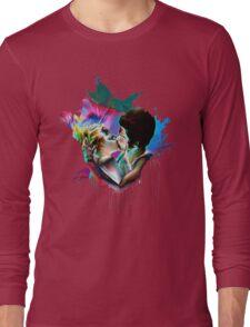 Across the Universe - Strawberry Kiss Long Sleeve T-Shirt
