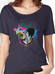 Across the Universe - Strawberry Kiss Women's Relaxed Fit T-Shirt