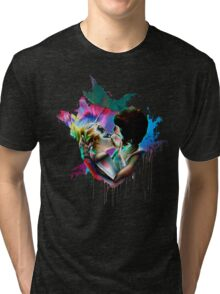 Across the Universe - Strawberry Kiss Tri-blend T-Shirt