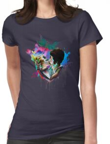 Across the Universe - Strawberry Kiss Womens Fitted T-Shirt