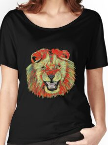 Lion / Löwe version 2 Women's Relaxed Fit T-Shirt