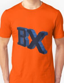 BX Logo Blue Unisex T-Shirt