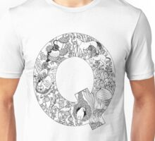 Animal Alphabet Letter Q Unisex T-Shirt