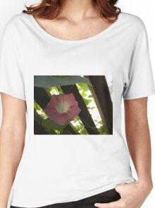 Pink Morning Glory Women's Relaxed Fit T-Shirt