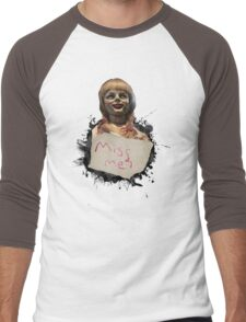 Annabelle the Doll Men's Baseball ¾ T-Shirt