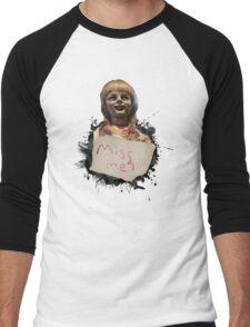 Annabelle the Doll Men's Baseball ¾ T-Shirt