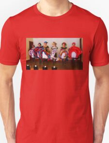 Dance Hall Girls in Old West Unisex T-Shirt