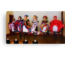 Dance Hall Girls in Old West Canvas Print