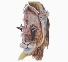 Lion stare Kids Tee