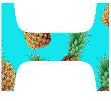 Theta Pineapple Letter Sticker