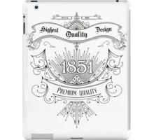 HQ design iPad Case/Skin