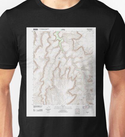 USGS TOPO Map Arizona AZ Supai 20111027 TM Unisex T-Shirt
