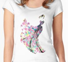 Colours in Motion Women's Fitted Scoop T-Shirt