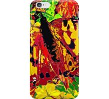 Abstract Butterfly #4 Autumn iPhone Case/Skin