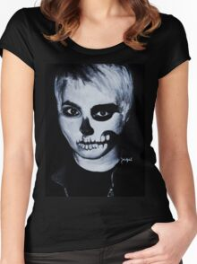 Black Parade Gerard Way Women's Fitted Scoop T-Shirt
