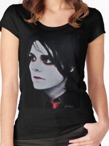 Revenge Era Gerard Way Women's Fitted Scoop T-Shirt