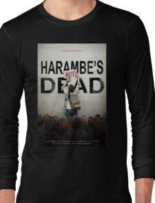 Harambe's Not Dead Long Sleeve T-Shirt