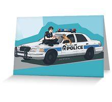 Off duty (full) Greeting Card