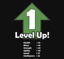 Level Up - Level 1! Kids Tee