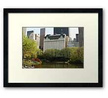 The Plaza, NYC Framed Print