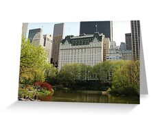 The Plaza, NYC Greeting Card