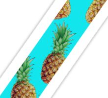 Zeta Pineapple Letter Sticker