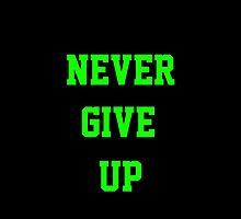wwe Cena Never Give up  by WhoDunIT
