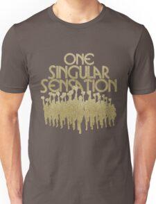One Singular Sensation | A Chorus Line Unisex T-Shirt