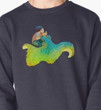 Fluffy SpaceSquid Pullover