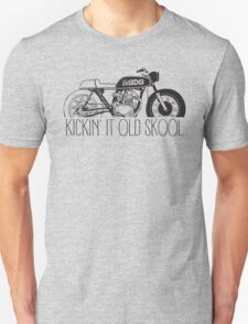 KICKIN IT OLD SKOOL (cafe) Unisex T-Shirt