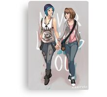 Max & Chloe - Never Leaving You Canvas Print