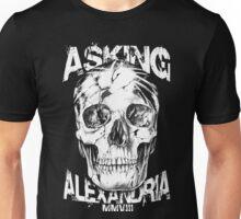 Asking Alexandria Skull England Rock N' Roll Unisex T-Shirt