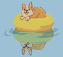Summer Corgi Kids Tee