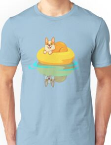 Summer Corgi Unisex T-Shirt