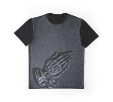 Praying Hands Graphic T-Shirt