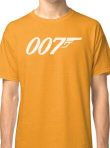 007 James Bond Sticker Vinyl Decal Gun Wall Car 12 Classic T-Shirt
