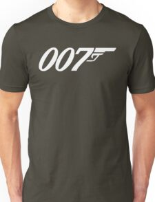 007 James Bond Sticker Vinyl Decal Gun Wall Car 12 Unisex T-Shirt