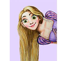 Rapunzel from Tangled - Purple Photographic Print