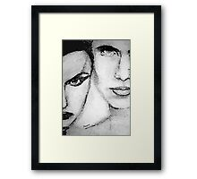 He/She Framed Print