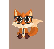 Fox Nerd Photographic Print