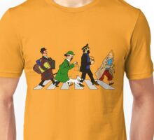Tintin Abbey Road Unisex T-Shirt
