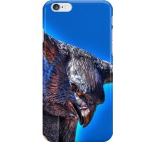 Falcon Statue HDR iPhone Case/Skin