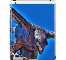 Falcon Statue HDR iPad Case/Skin