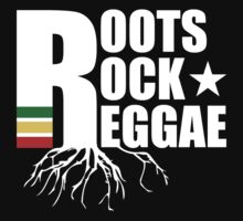 Roots Rock Reggae WHT One Piece - Long Sleeve