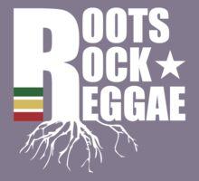 Roots Rock Reggae WHT Kids Tee